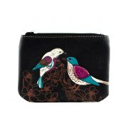 Black Bird Coin Purse