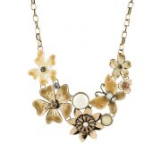 Golden Flower Necklace