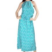 Zoe Maxi Dress Turquoise