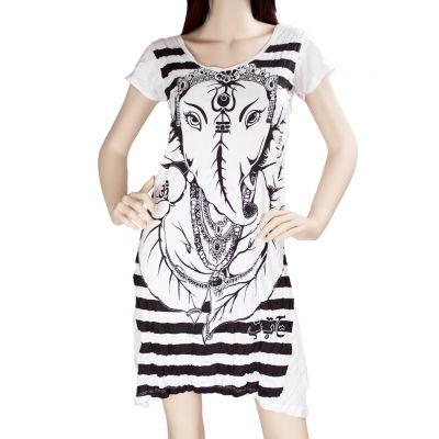 Ganesh Dress White