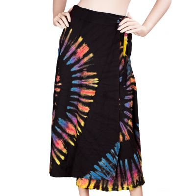 Tie Dyed Long Skirt